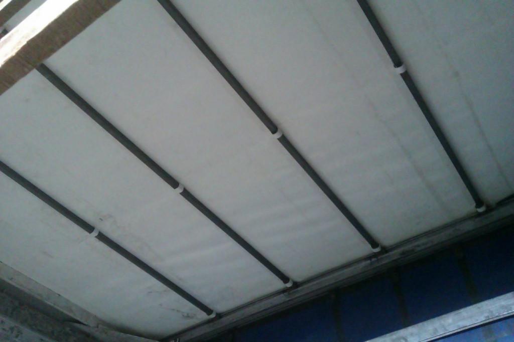 Раздвижная тентовая крыша на фургон-длинномер