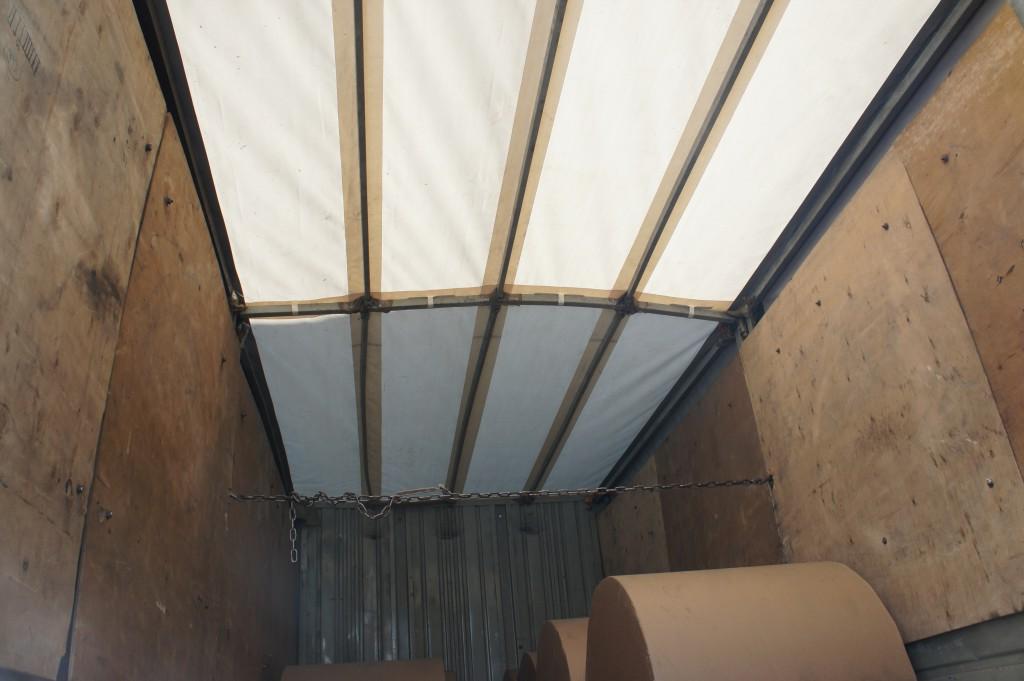 Тентовая крыша на Маз