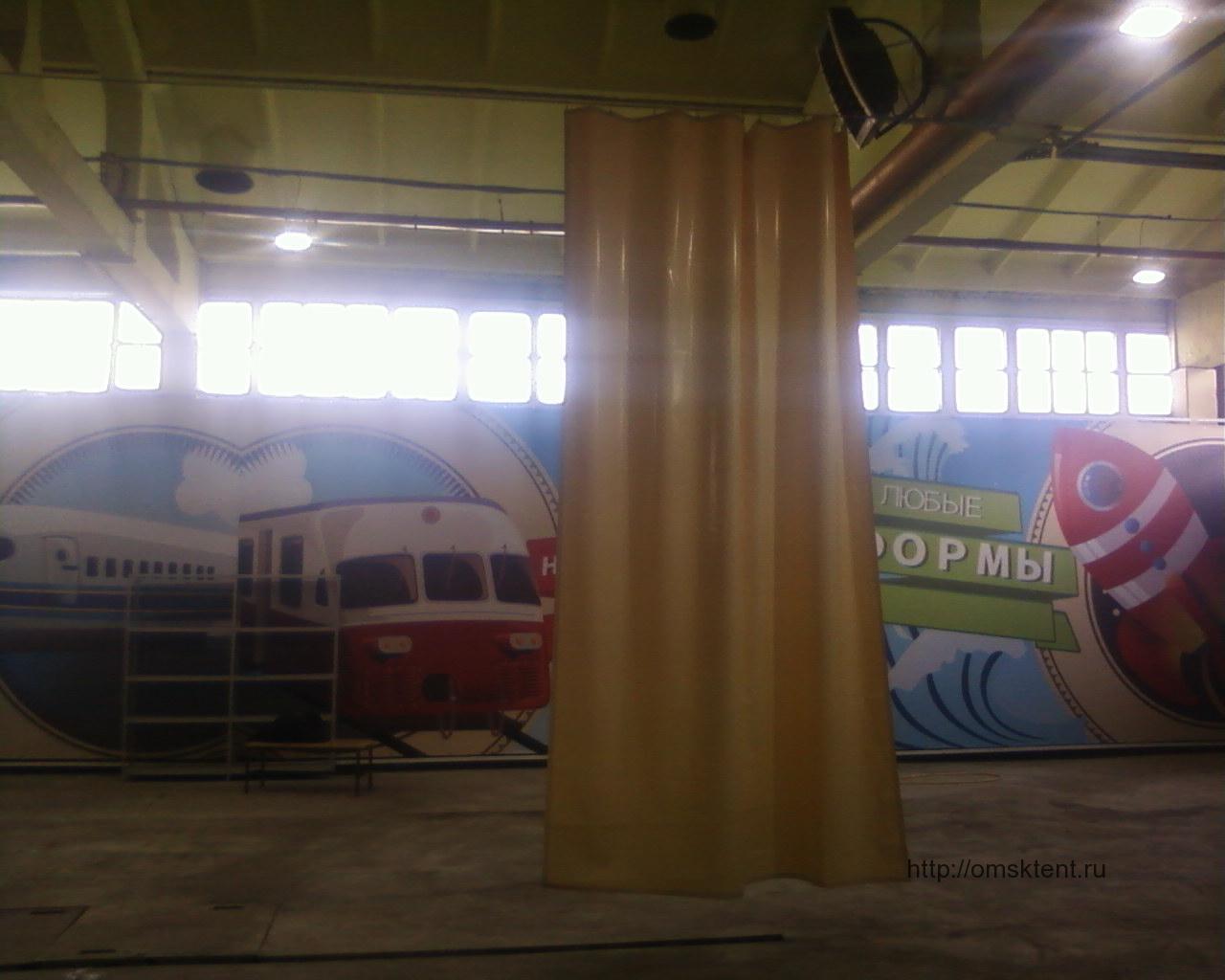 Штора для автомойки в Омске