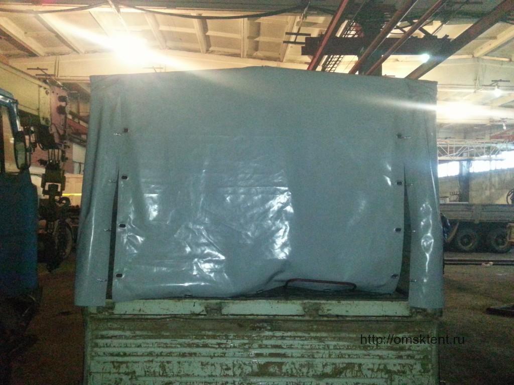 Изготовление тента на грузовик в Омске