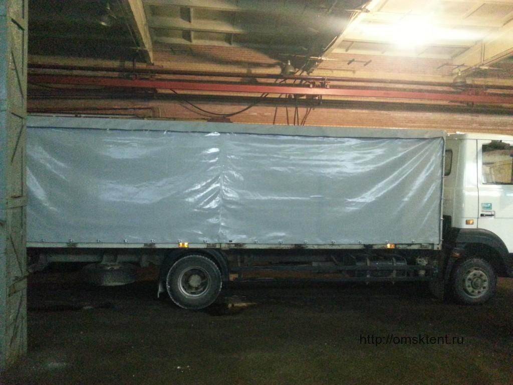 Тент на грузовик МАЗ Зубренок в Омске