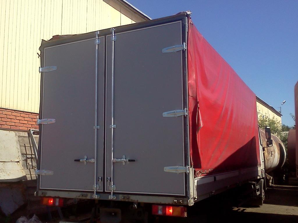 Ворота на грузовик «МАЗ»