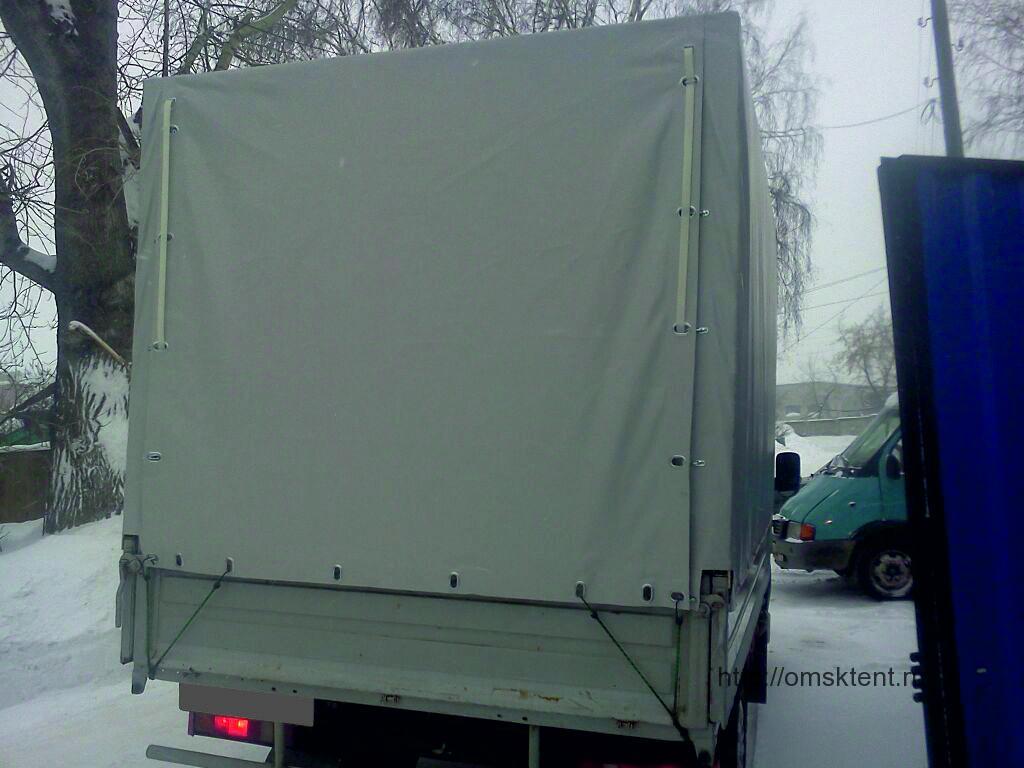 Изготовление и монтаж тента и каркаса на грузовик Газель