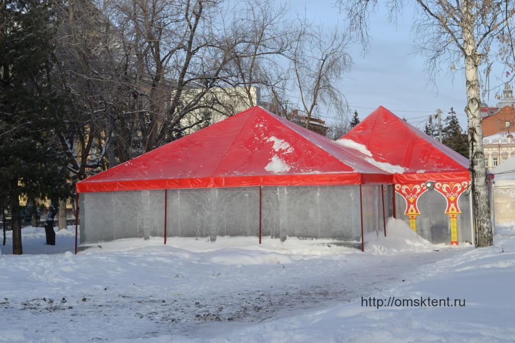 Изготовление зимних шатров-павильонов в Омске