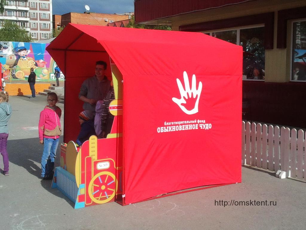 Торговая палатка в Омске