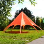 Шатер-зонт красный
