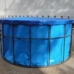 Каркасный бассейн диаметром 3 метра
