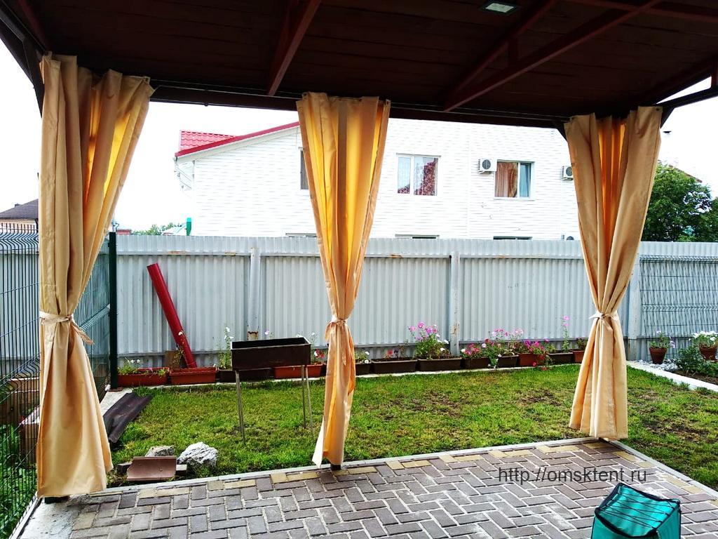 Уличные шторы для террасы