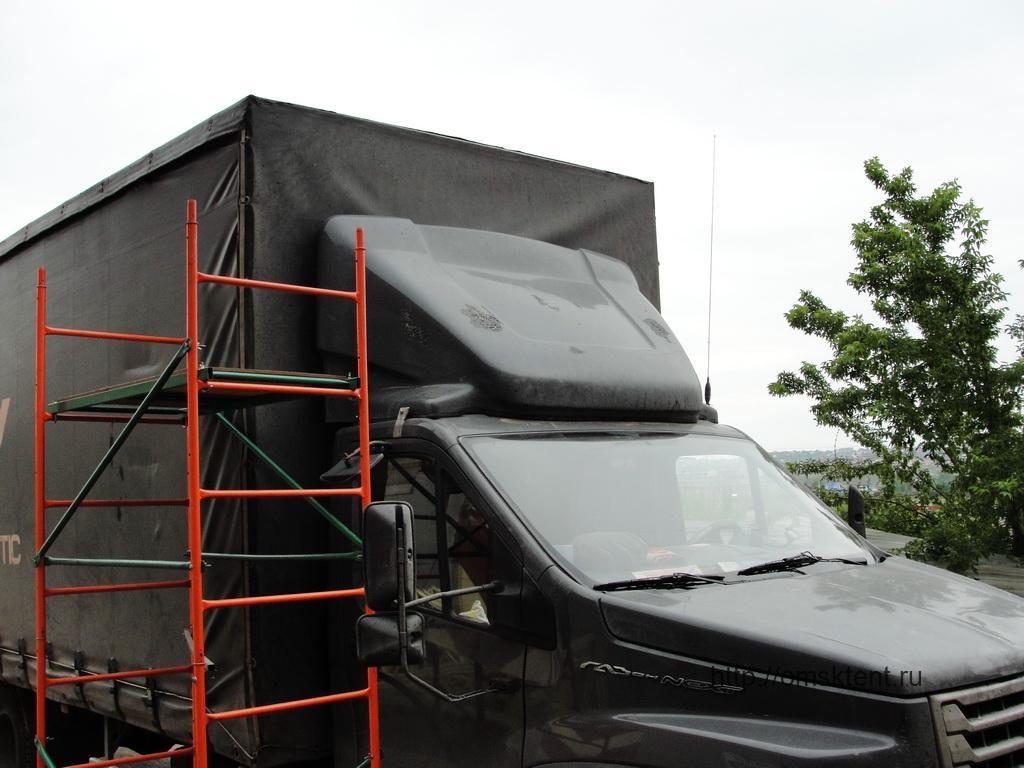 Запайка тента грузового автомобиля «Газон-Next»