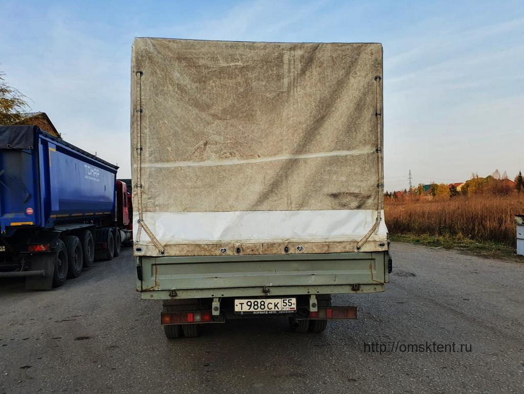Изменение высоты тента грузовика «Газель-Next»