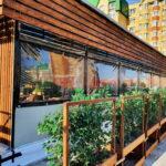 Мягкие окна для летних веранд