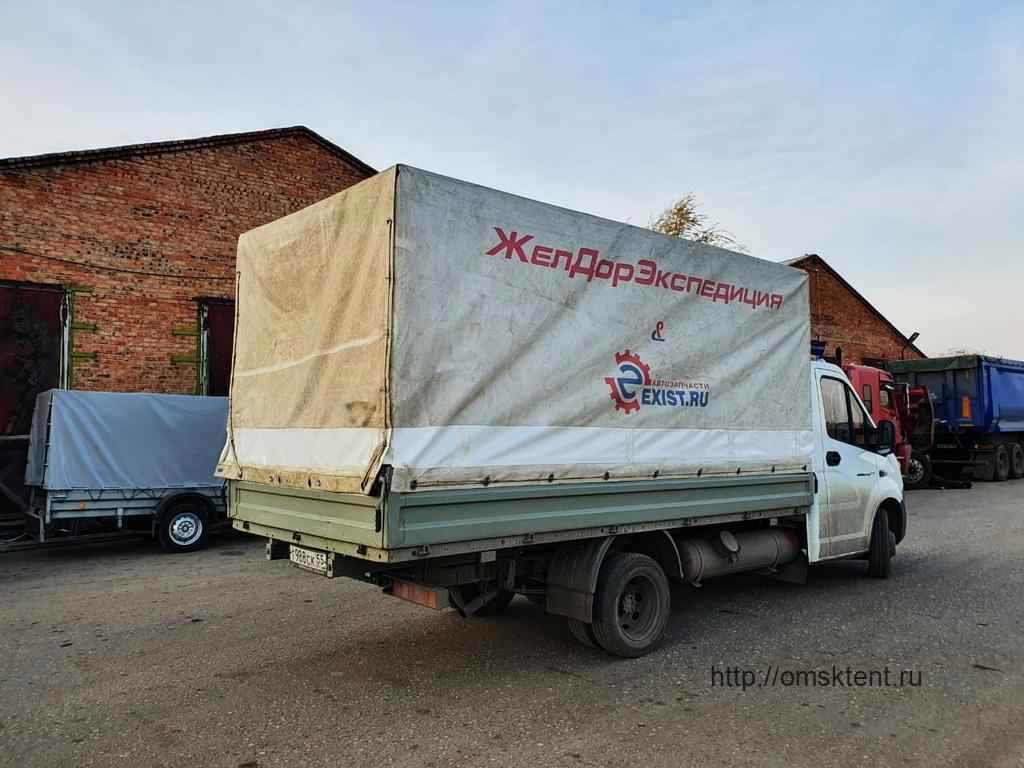 Переделка тента грузовика «Газель-Next»