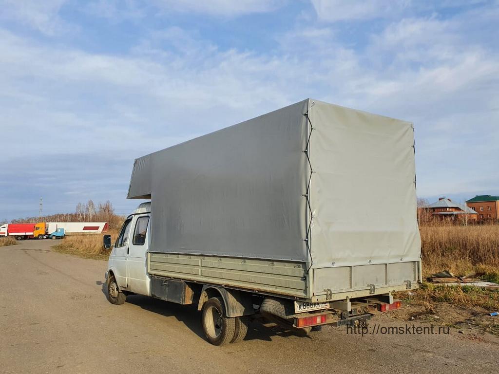 Тент на «Газель-Фермер» с передним выпуском в Омске