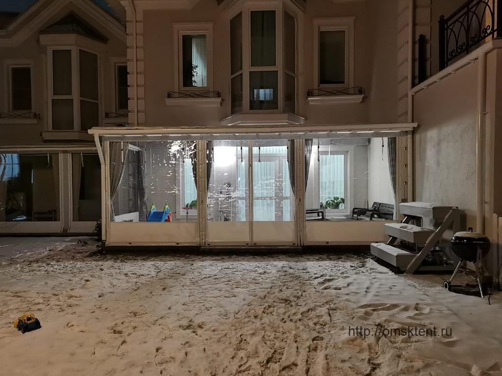 Мягкие окна на веранду, Омск