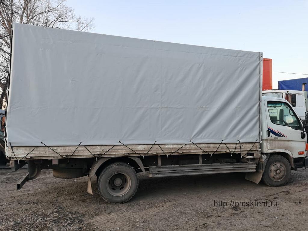 Тент на грузовой автомобиль Hyundai HD72 в Омске