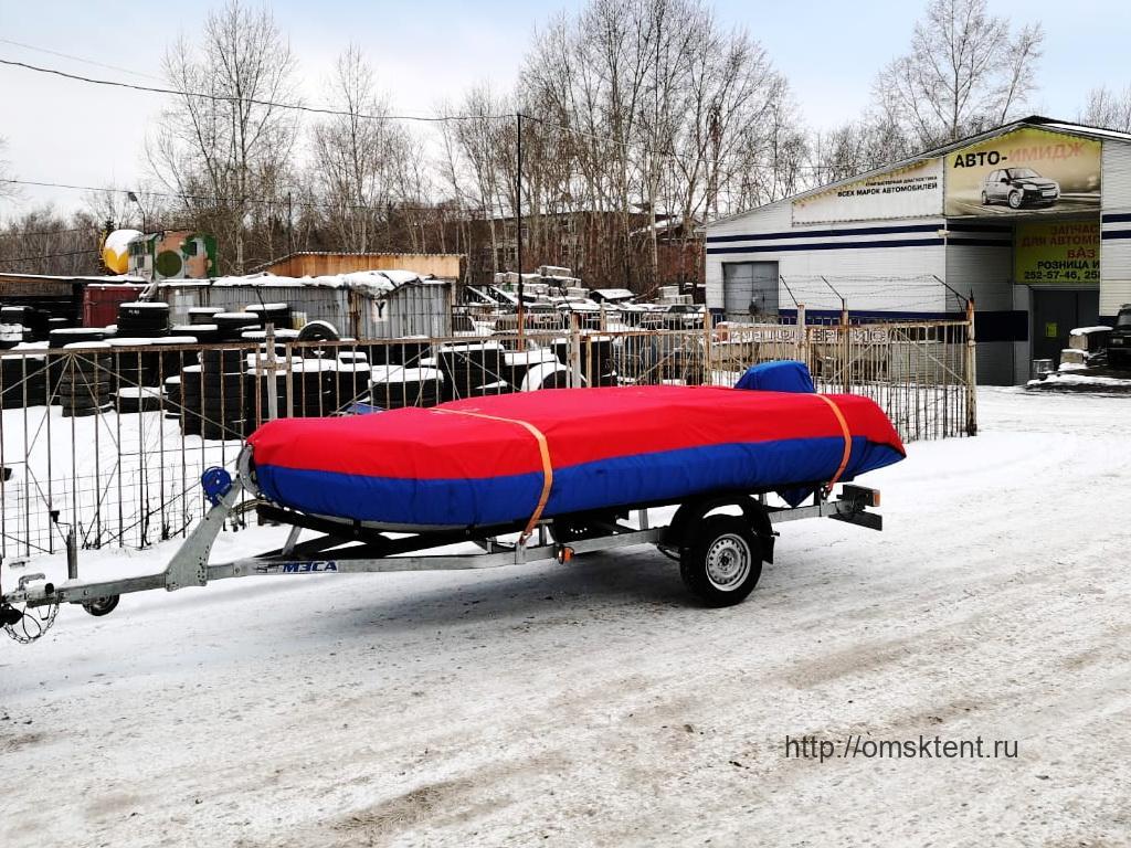 Тент на лодку «Флагман-450» в Омске