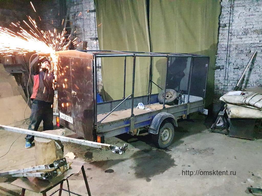 Ремонт каркаса автоприцепа КМЗ 821307 «Крепыш Тайга»