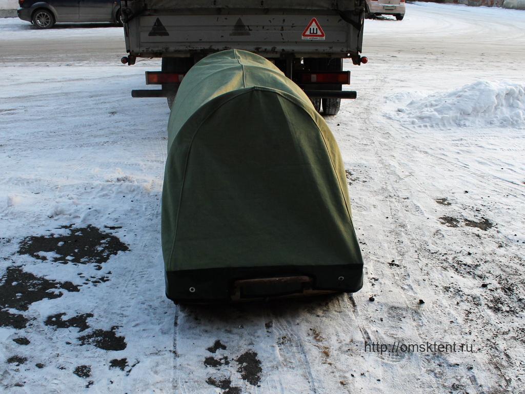 Тент-палатка на сани-волокуши для снегохода в Омске
