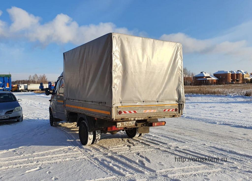 Новые клапан на тент грузовика «Газель-Фермер»
