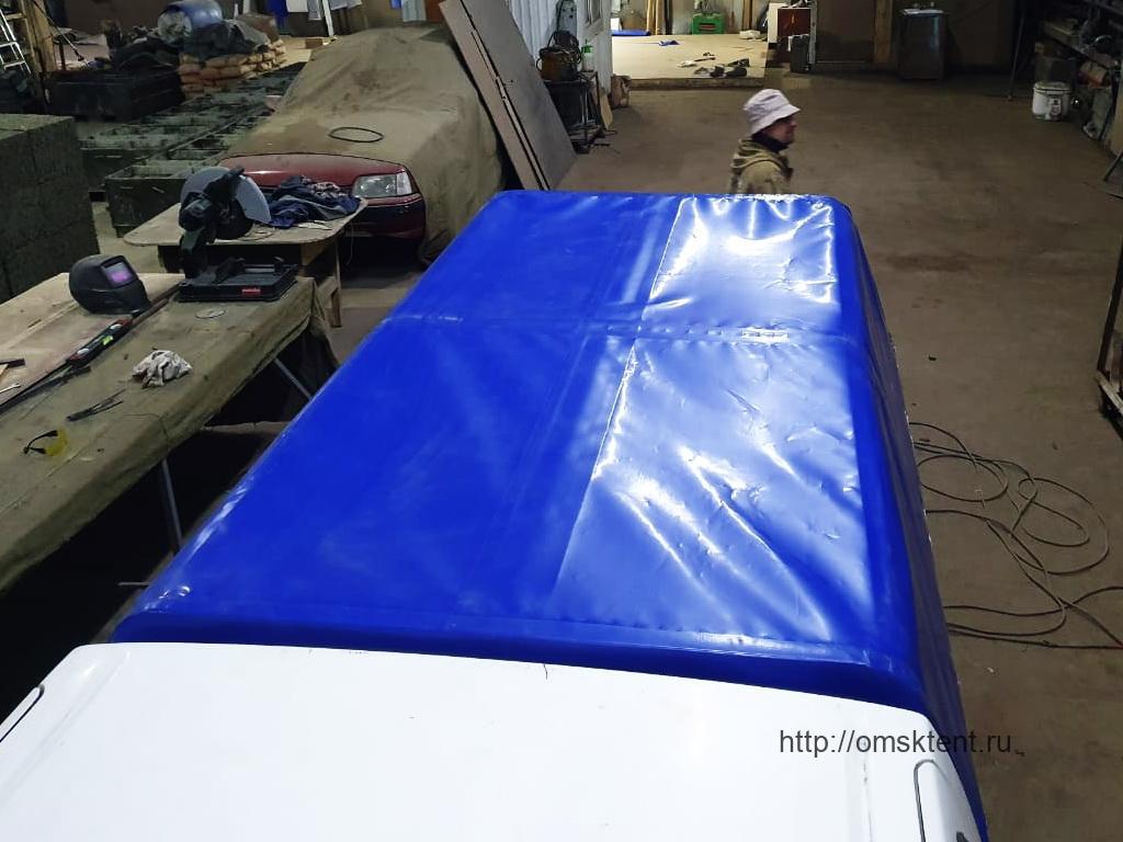 Тент-ПВХ на пикап Nissan Datsun Diesel