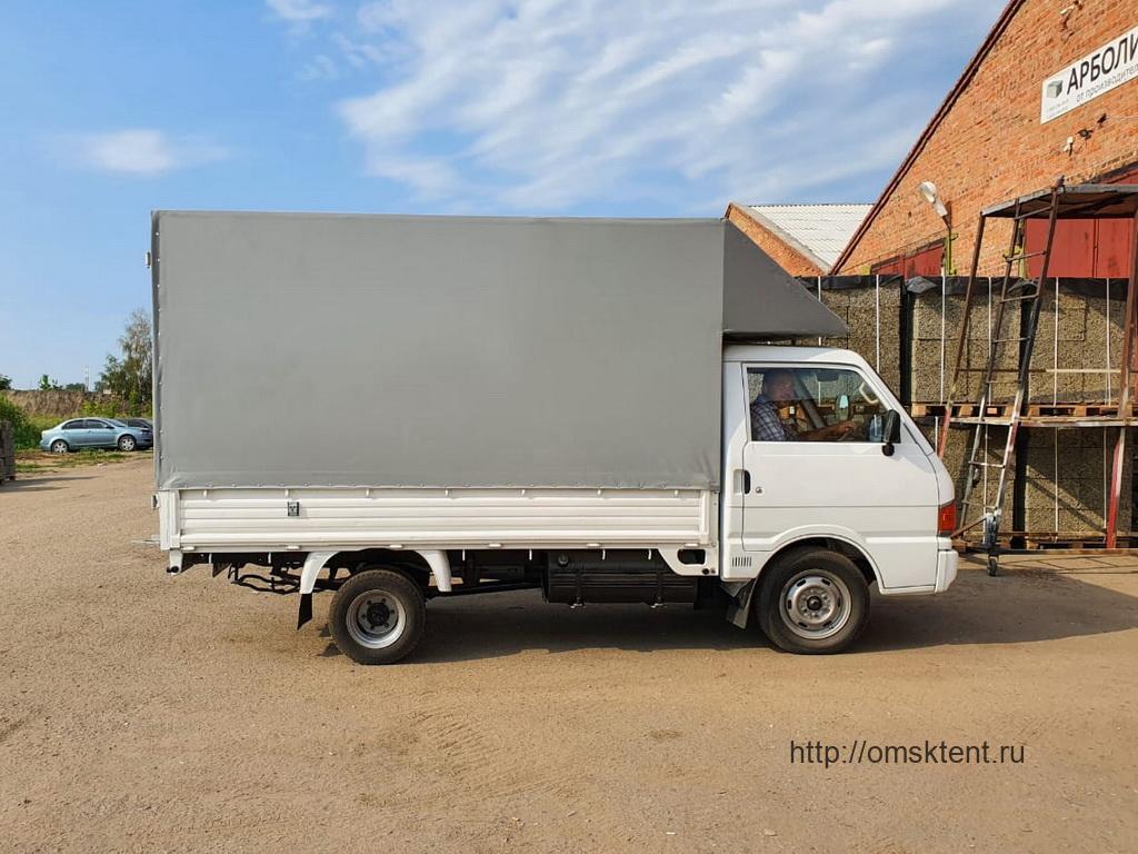Тент с выносом на грузовик Kia Bongo