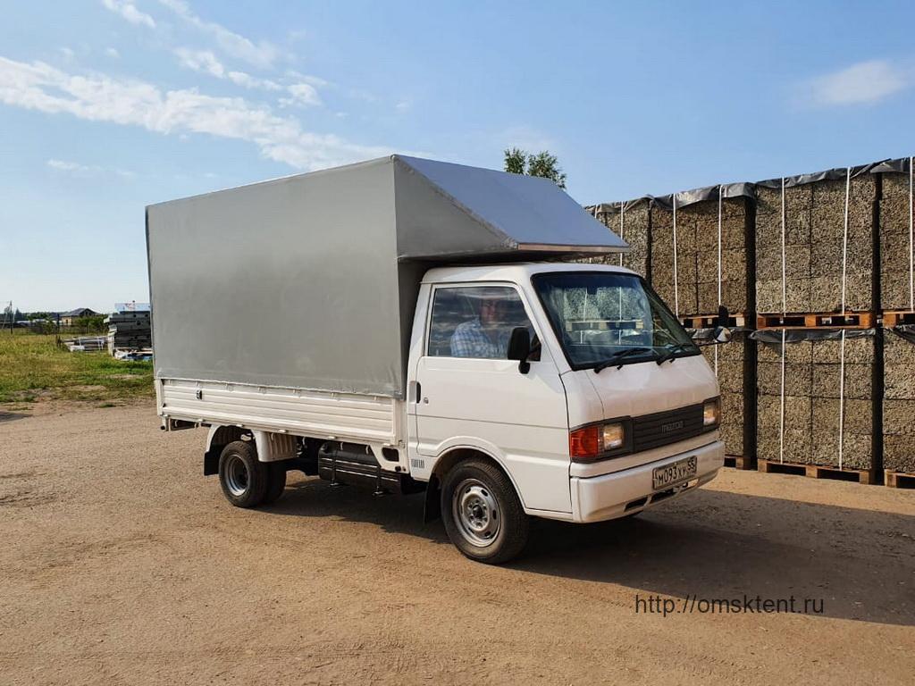 Тент со спойлером на грузовик Kia Bongo