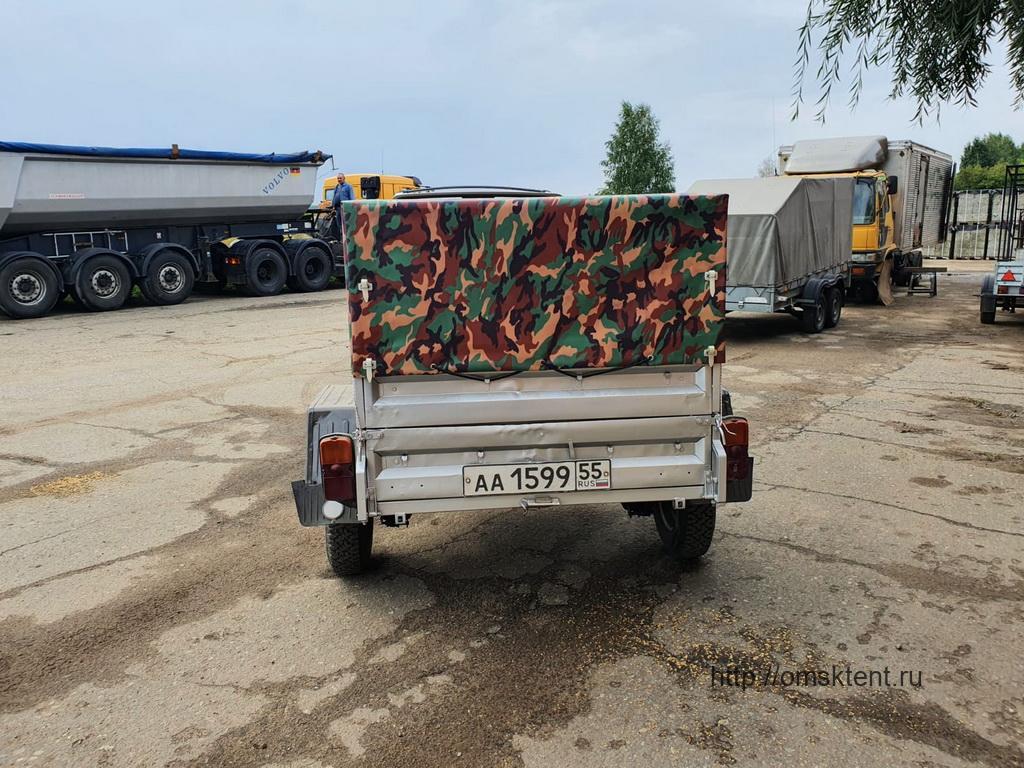 Тент на прицеп легковой КМЗ-8136